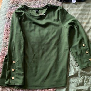 Ann Taylor Shirt with Buttons